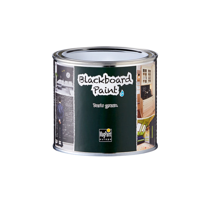 Blackboard Paint - green tin