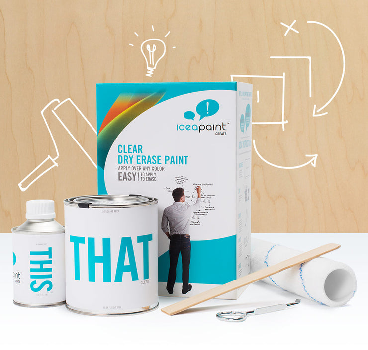 IdeaPaint Clear Whiteboard Paint