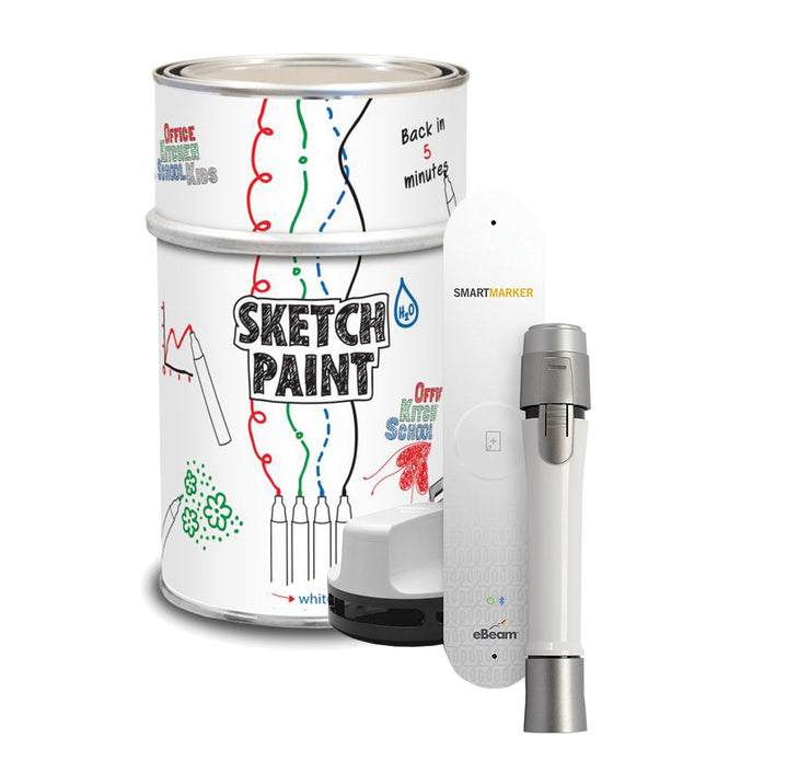 Sketchpaint whiteboard paint & ebeam