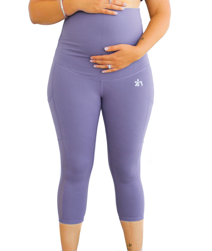 Power Mesh Maternity 7/8 Length Tights