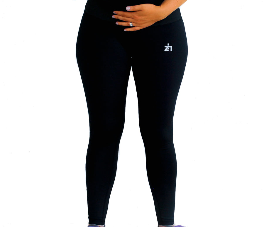 @zoehopeactive Zoe Classic Maternity Full Length Tights