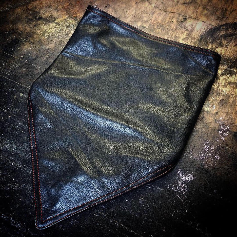 MBL Leather Bandana