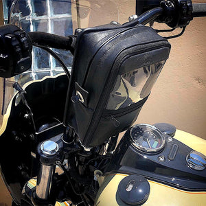 MBL Premium Leather Handlebar Bag