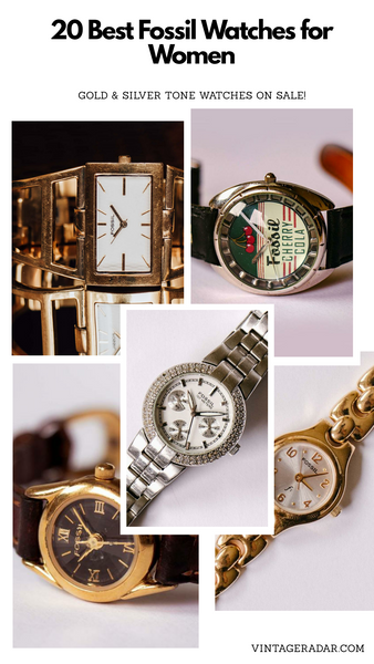 20 Fossil Watches for Women | Gold & Silver Fossil Watches on SALE