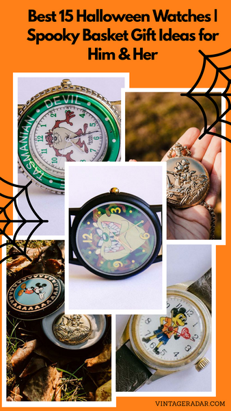 Best 15 Halloween Watches | Spooky Basket Gift Ideas for Him & Her