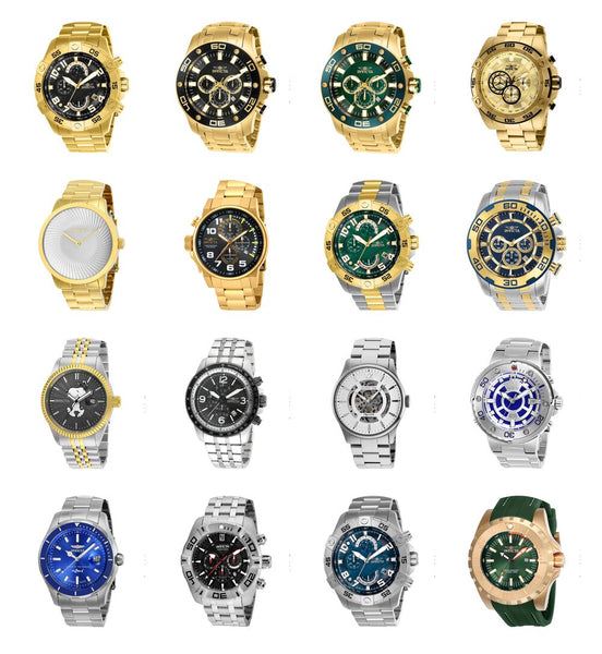 Top 10 Best Invicta Watches for Men | Men's Invicta Watches Review