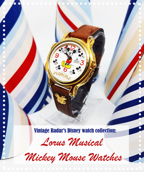 Lorus Musical Mickey Mouse Watch: Rare Disney Watch Collection