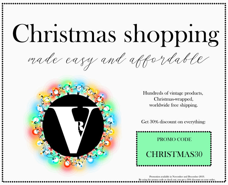 Vintage Radar's Christmas Gift Guide for Vintage and Handmade gifts!