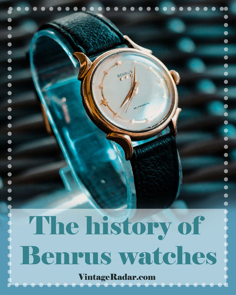The History of Benrus Watches | Benrus Heritage Collection Release