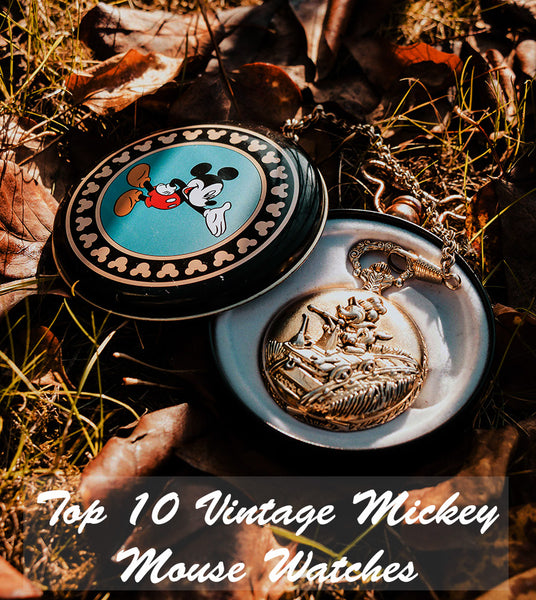 Top 10 Vintage Mickey Mouse Watches | Best Disney Watches