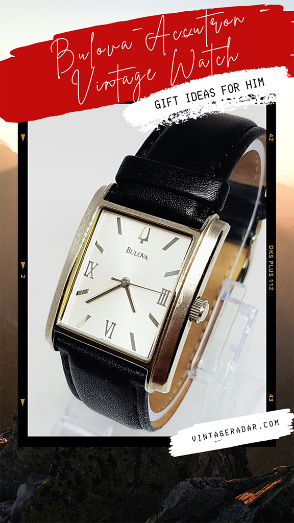 宝路华Accutron Vintage Watch for Men