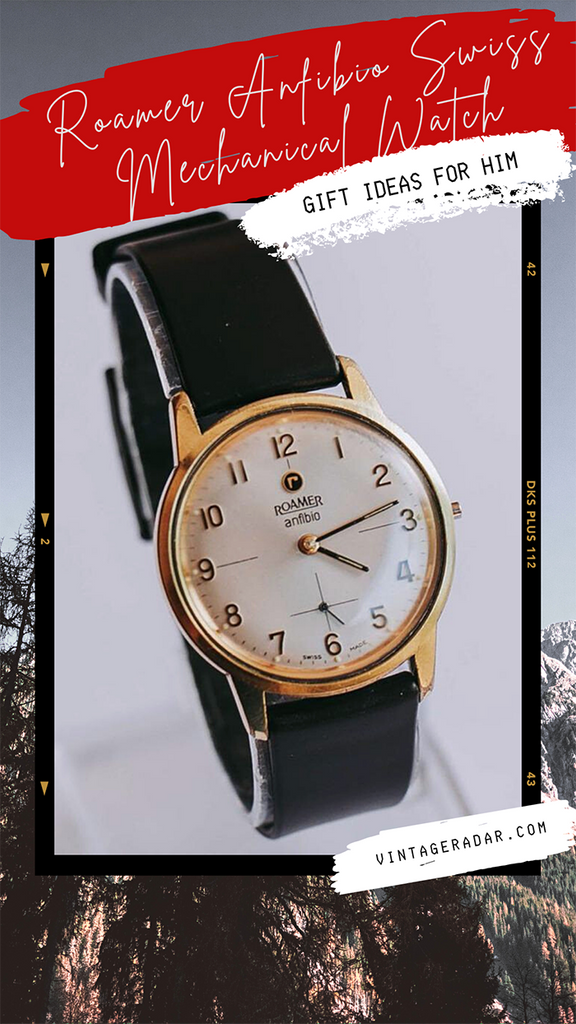 Roamer Vintage Gold-plated Watch