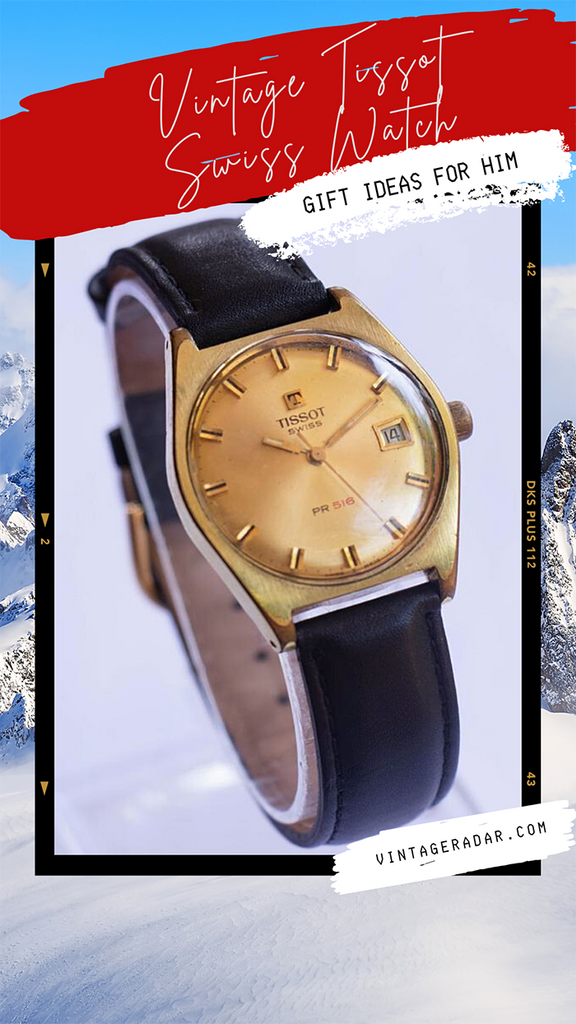 Tissot Vintage Christmas Watch for Him