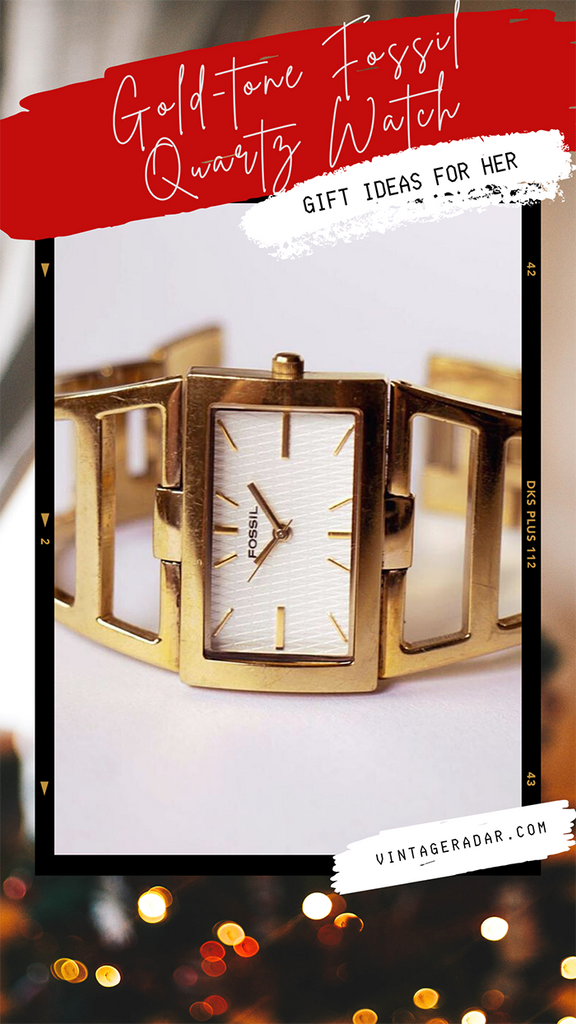Gold-tone Fossil Watch for Women