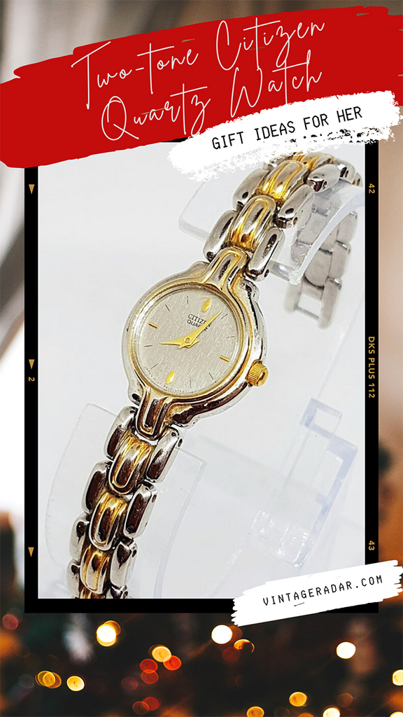 Vintage Citizen Two-tone Watch for Ladies