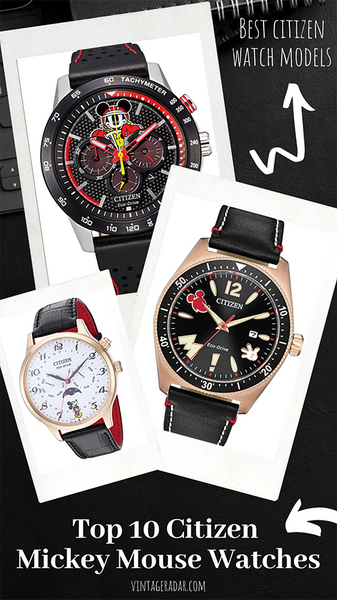 Top 10 Citizen Mickey Mouse Watches for Men and Women