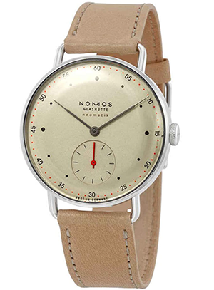 Nomos Metro Neomatik Automatic Champagne Dial Ladies Watch 1107