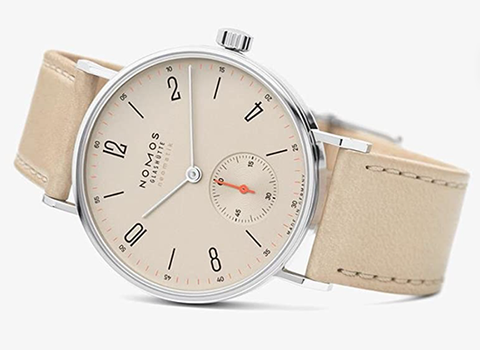 Nomos Tangente Neomatik Automatic Ladies Leather Watch 176