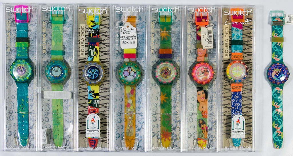Swatch Scuba Watch Collection