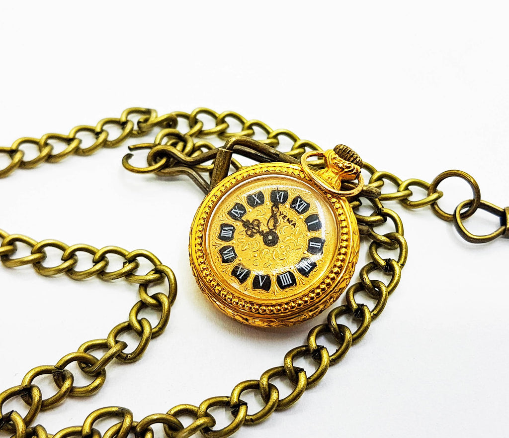 Yema Gold Vintage Pocket Watch | French Pocket Watch