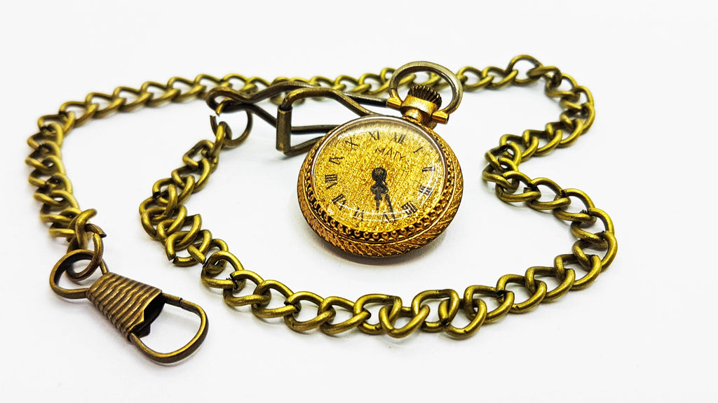 Maty Gold Vintage Pocket Watch | French Pocket Watch