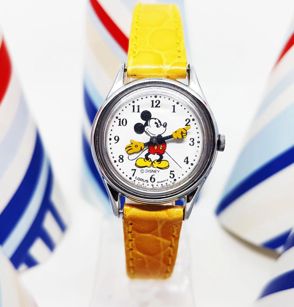 lorus mickey mouse watch v515 6128
