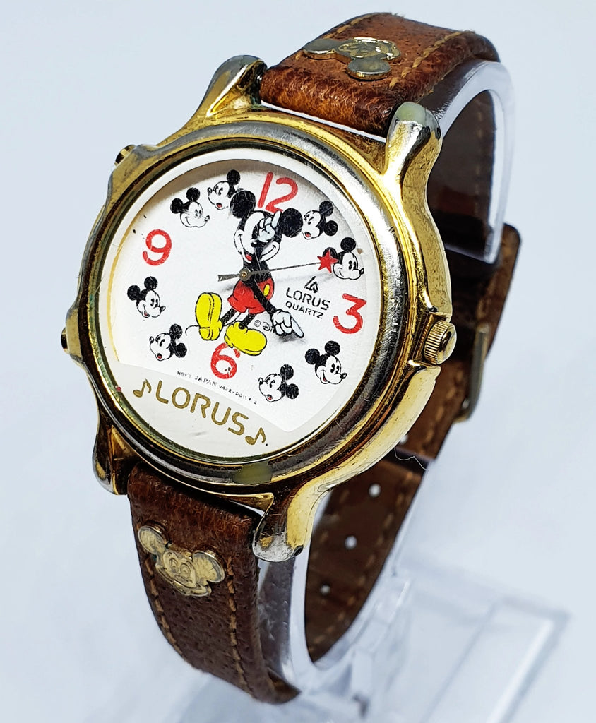 Lorus Walt迪士尼Musical Mickey Mouse Quartz Unisex Watch V422-011 R2