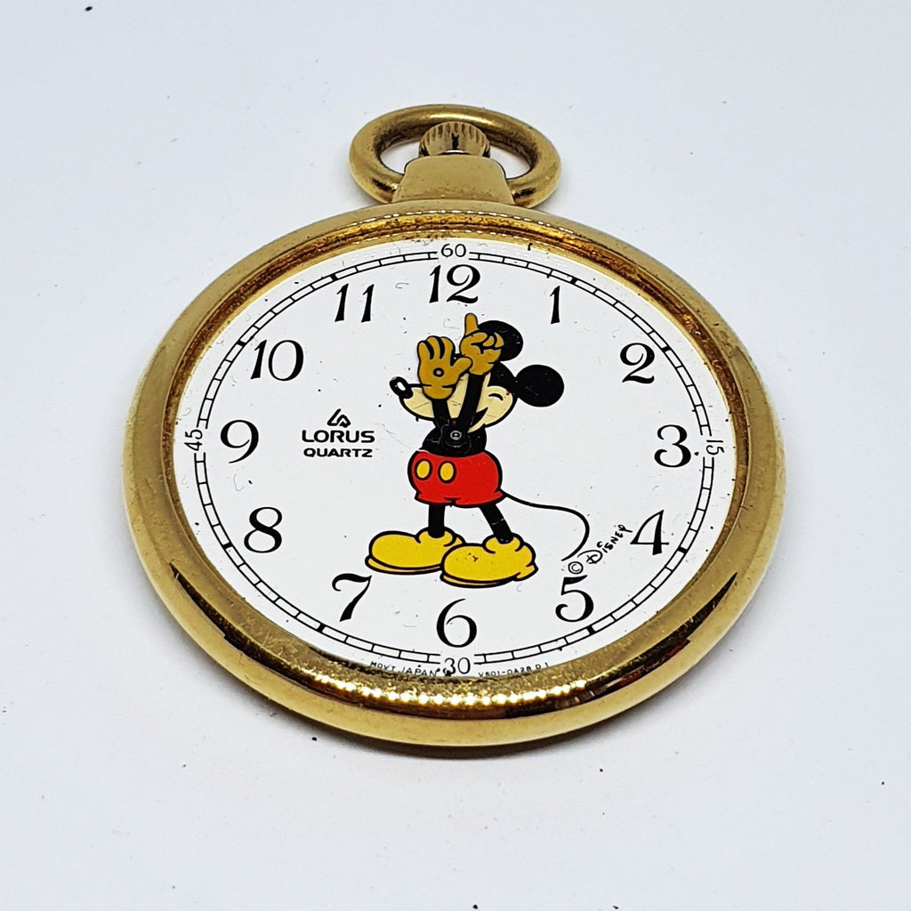 Lorus V501-0A28D1 Mickey Mouse Disney Pocket Watch