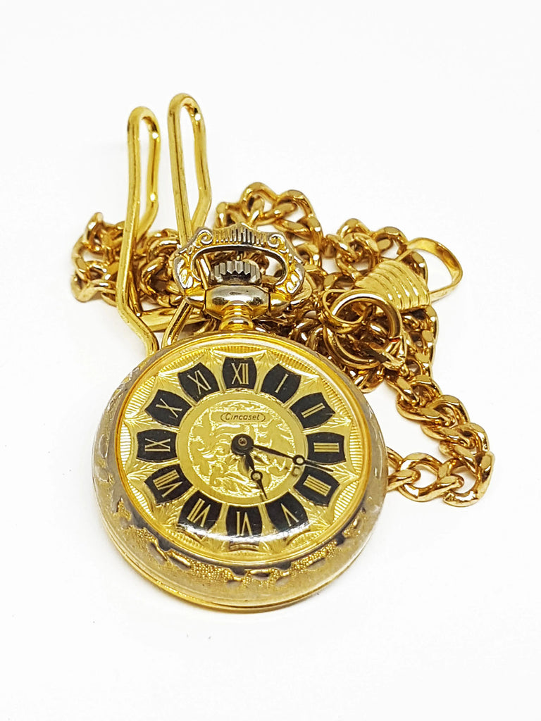 Vintage Cincaset Pocket Watch