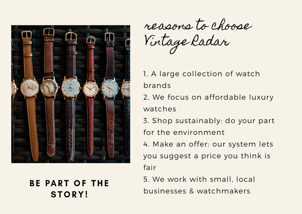 reasons to choose Vintage Radar