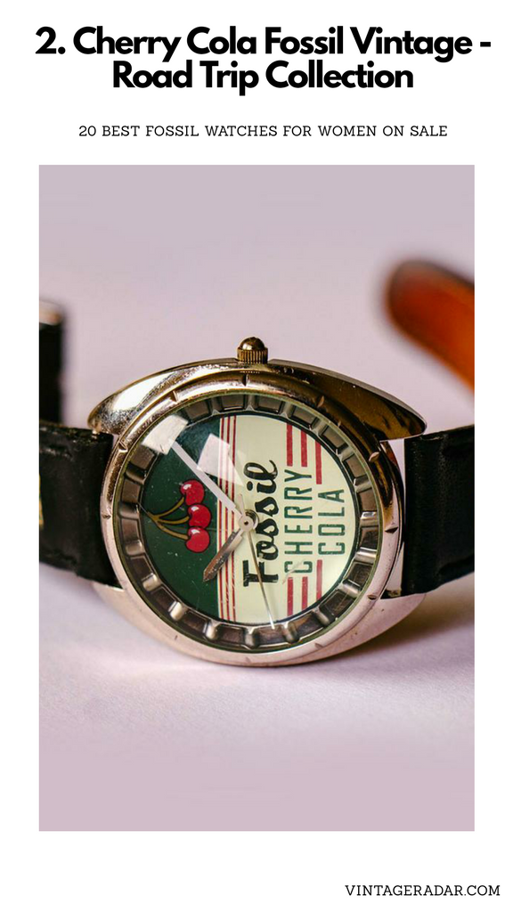 Cherry Cola Fossil Ladies Watch