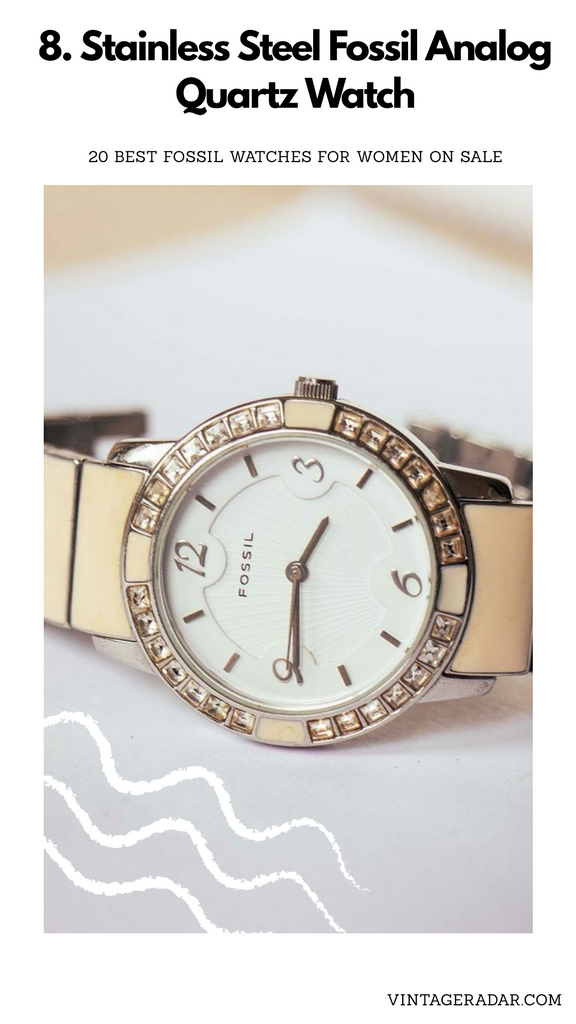 Silver-tone Fossil Ladies Watch