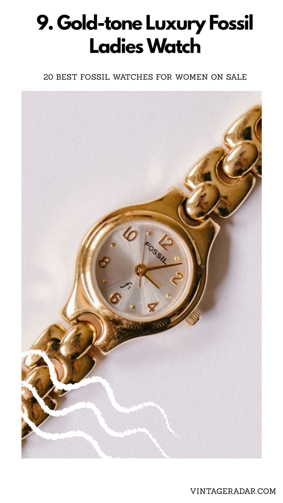 Fossil Ladies Watch Gold-tone