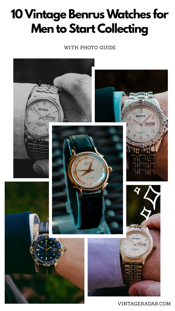 10 Vintage Benrus Watches for Men