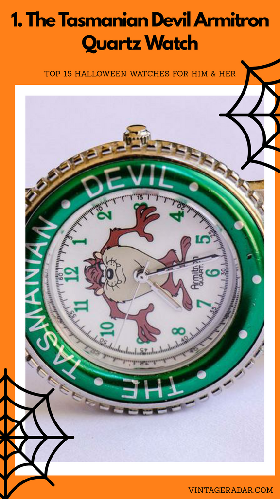 The Tasmanian Devil Armitron Quartz Watch | Emerald Green Watch