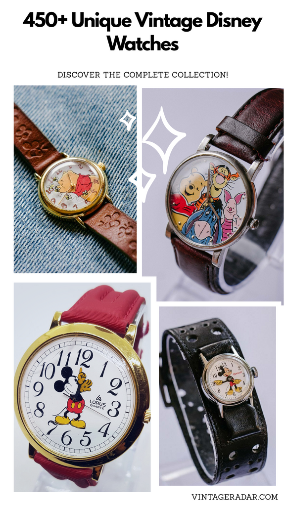 450+ Disney Watches