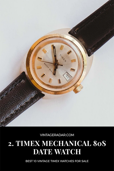 Timex Water-resistant Mechanical Watch