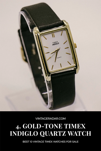Gold Timex Formal Watch for Men and Women