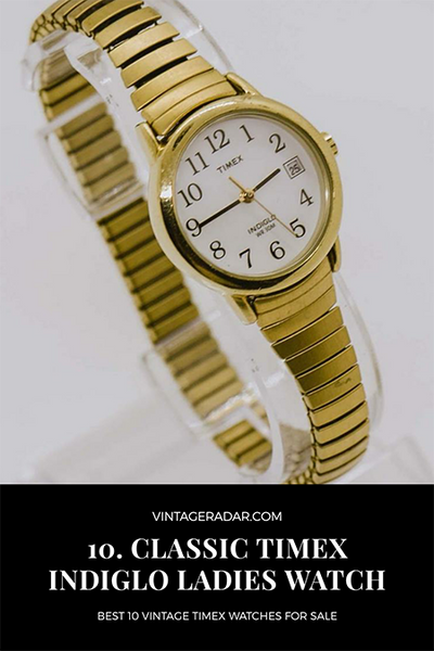 24mm Timex Indiglo Day Date for Women