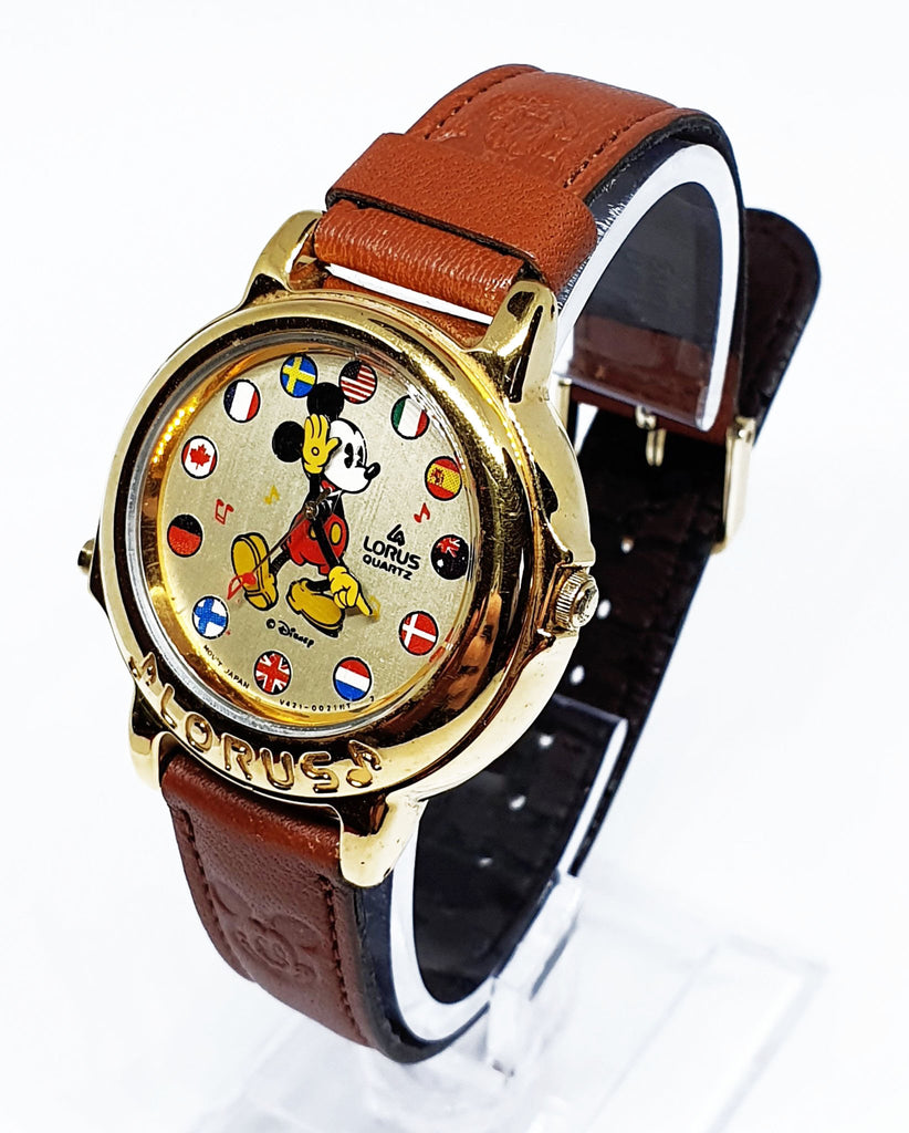 Lorus Musical Mickey Mouse Watch
