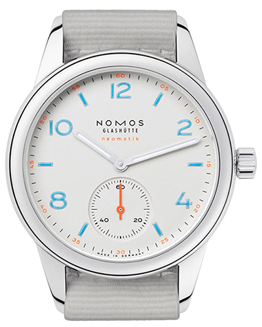 Nomos Club Neomatik Automatic White Dial Men's Watch 740