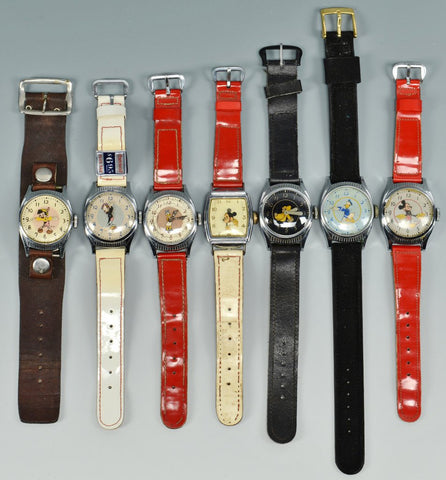Vintage Mechanical Disney Watches | Antique Mickey Mouse Watches