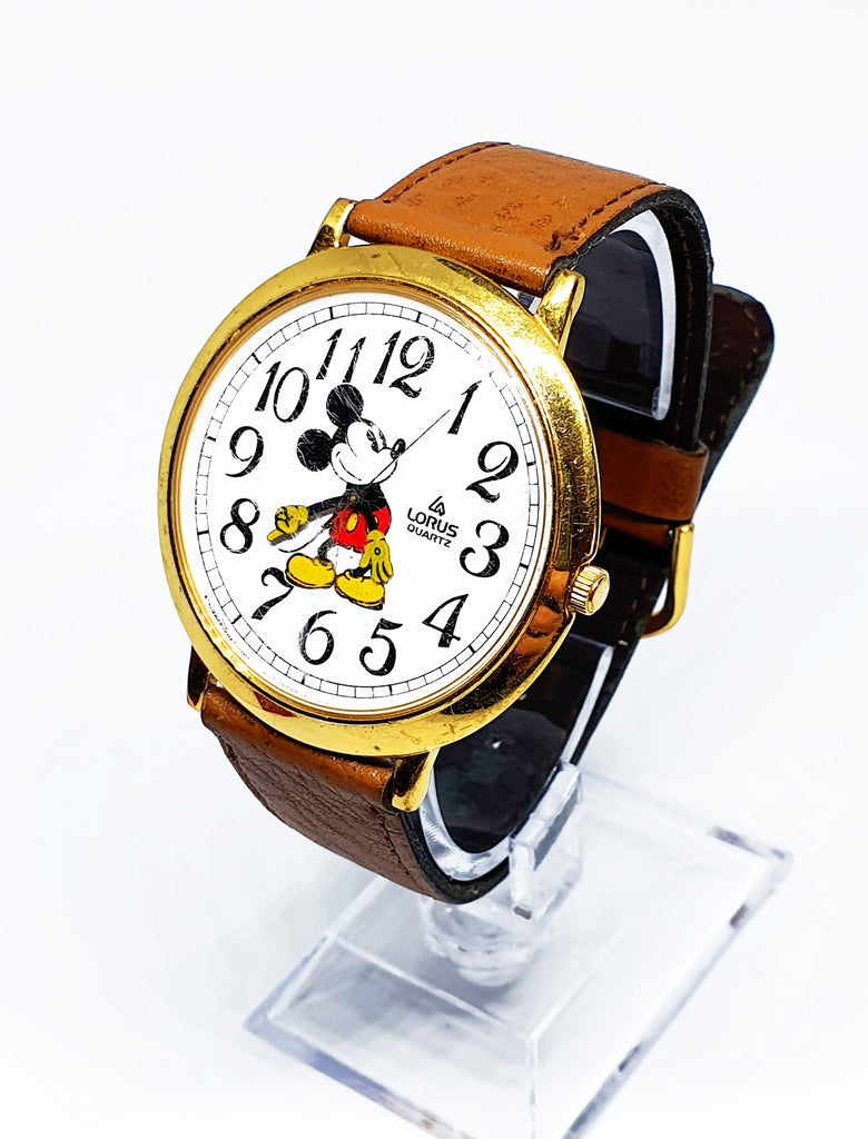 Big Lorus Mickey Mouse Quartz Watch
