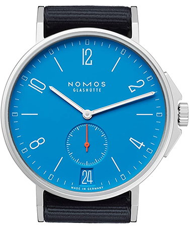 Nomos AHOI Siren Blue Dial Automatic Men's Watch 554