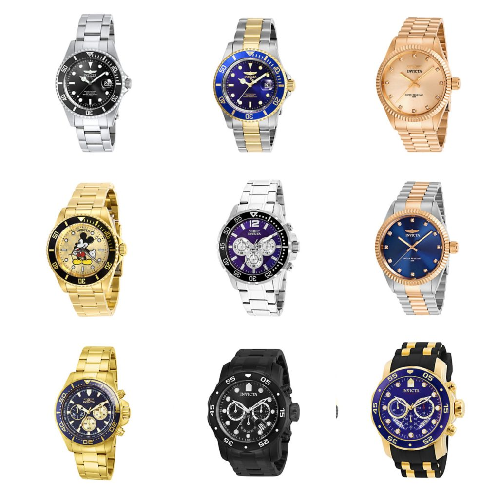 Invicta Watches for Men - Invicta Watch Collection