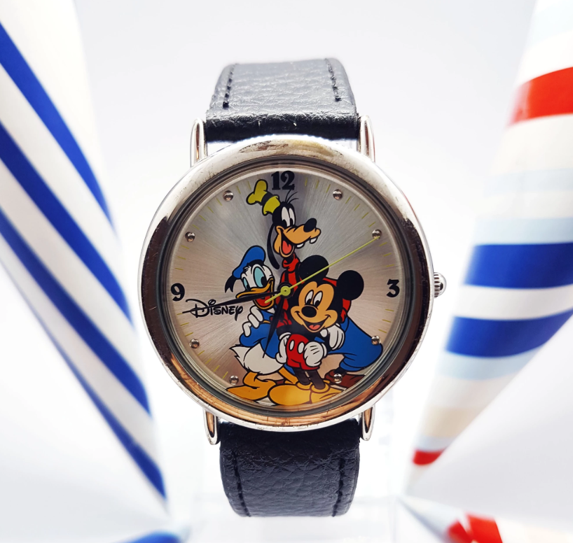 Mickey, Donald and Goofy Seiko Vintage Watch