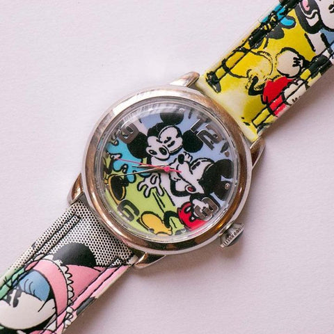 Rare Vintage Mickey Mouse & Minnie Mouse Watch por mzb