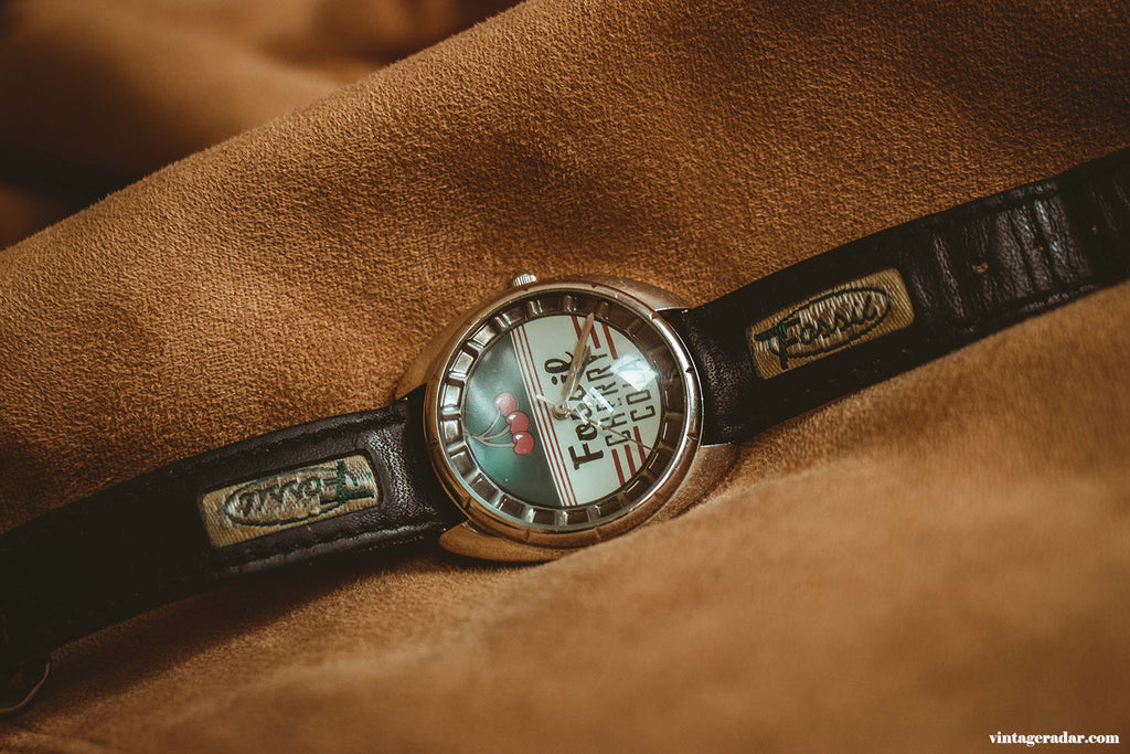 Fossil Cherry Cola Vintage Watch