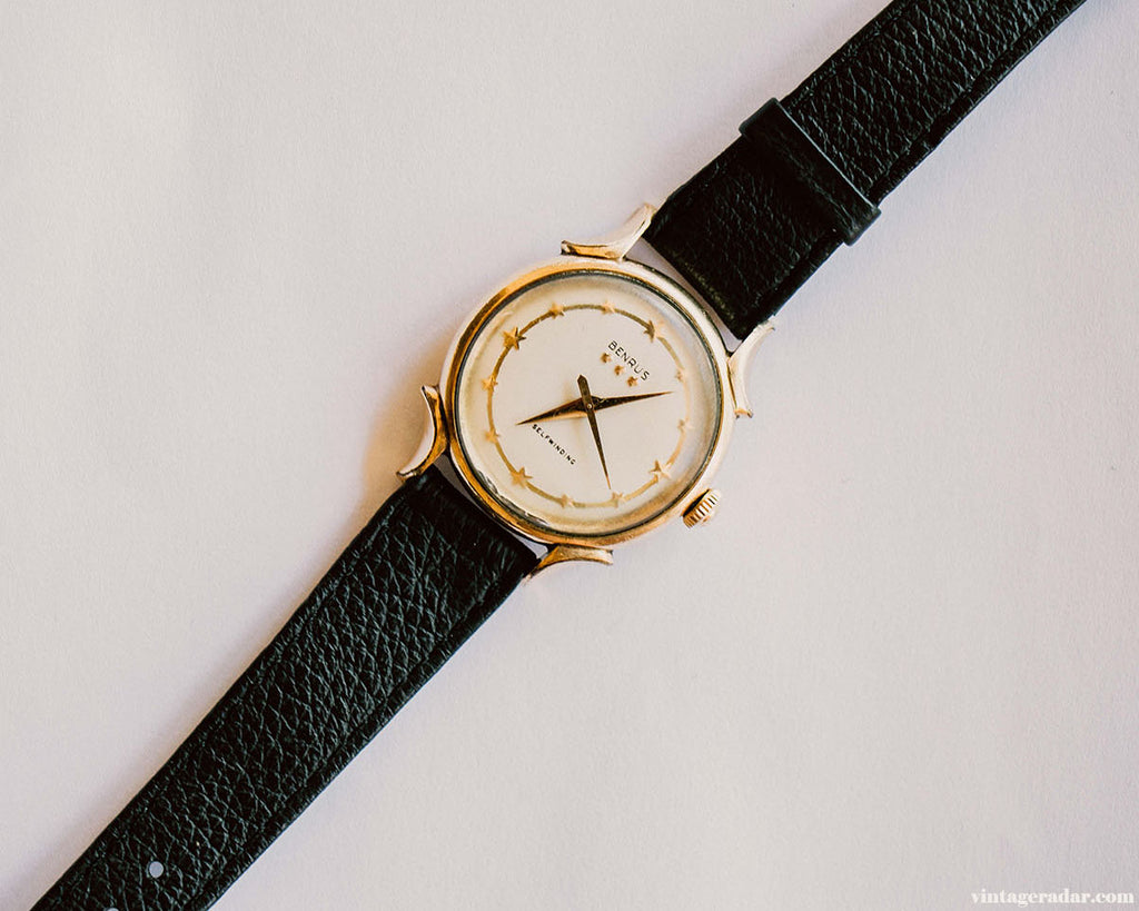 Benrus Gold-filled 3 Star Vintage Watch