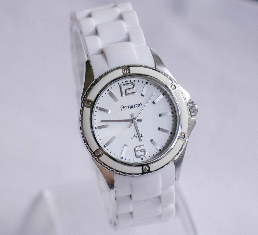 Armitron Now All-white Watch